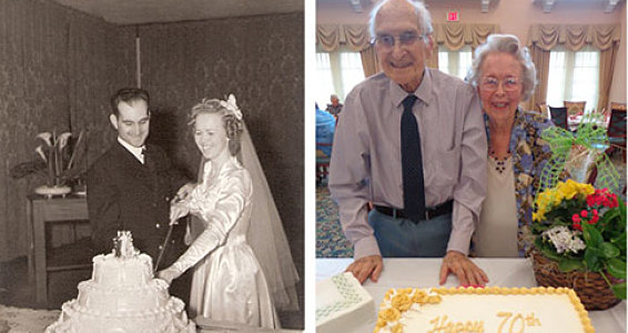 Beaumont couple celebrates 70th wedding anniversary
