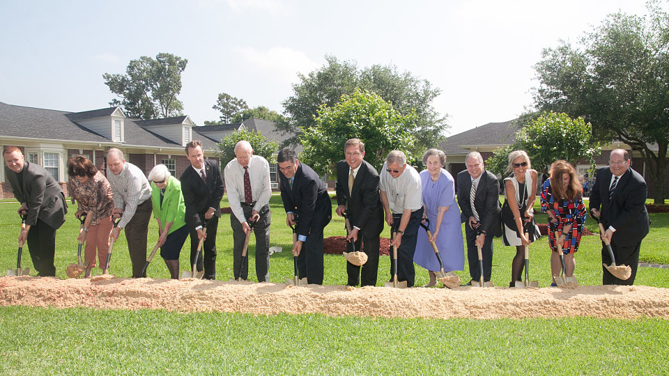 broke ground in Beaumont