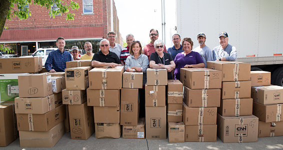 Missouri Rotary collects, donates 17,377 pairs of new shoes for vulnerable children