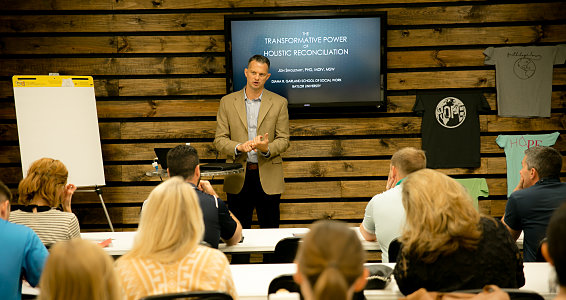 Friday photo: Buckner Missions engages community on mission topics