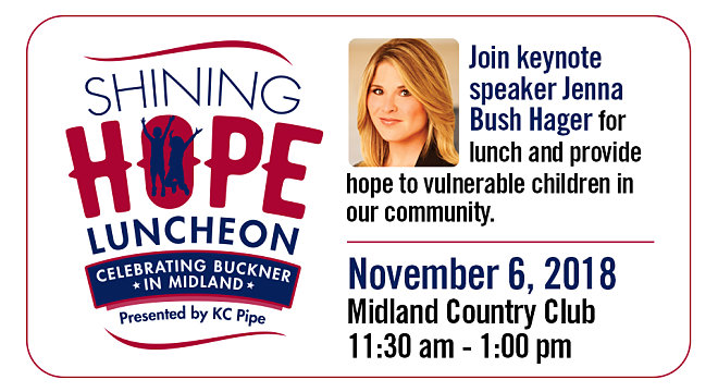 Midland: 2018 Shining Hope Luncheon