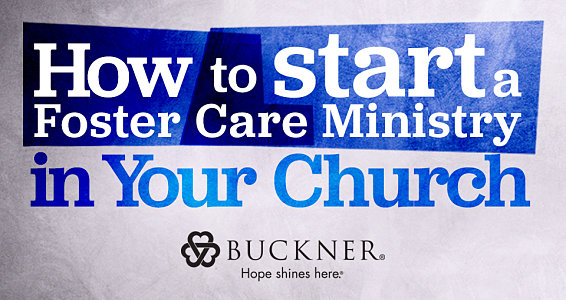 Foster care: How can my church get involved?