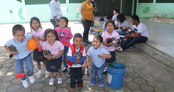 Thank you for helping Guatemalan children go to school