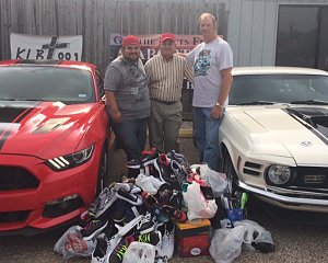 2017 beaumont shoe drive