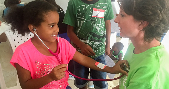 Friday photo: LeTourneau University nursing students shine hope in Dominican Republic