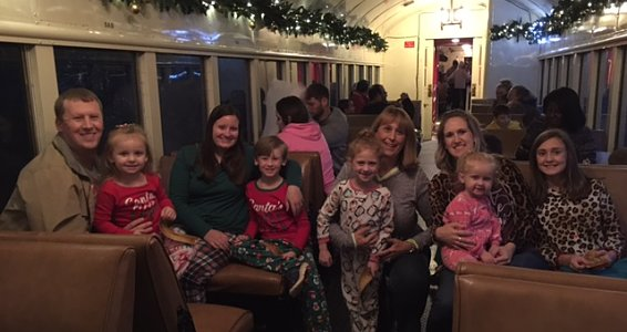 Friday photo: Buckner children in East Texas 'believe' in the magic of The Polar Express