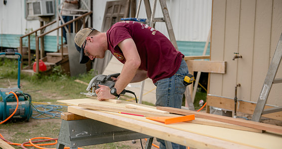 Buckner Spring Break house build blitz set to radically transform lives of seven families in one week
