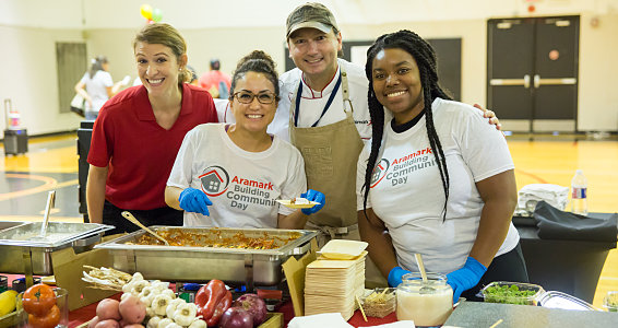 Friday photo: Aramark and Buckner host wellness expo for South Dallas