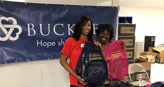 Buckner sends 1,200 Houston children back to school with new supplies, backpacks