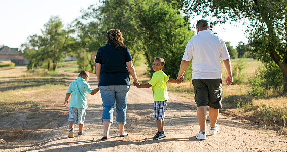 'Perfect for them': Amarillo-area couple adopts two young boys, giving them each a brother, family, community