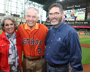 albert reyes and mattress mack before astros game
