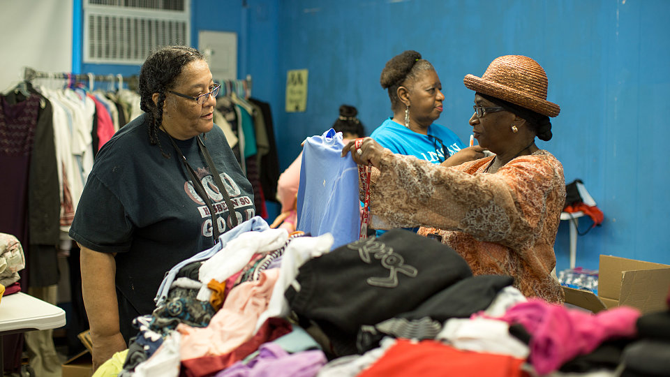 aldine family hope center flood relief 12