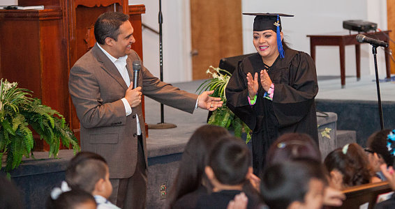 Friday photo: Family Hope Center at Bachman Lake graduations