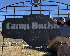 bill joe at camp buckner
