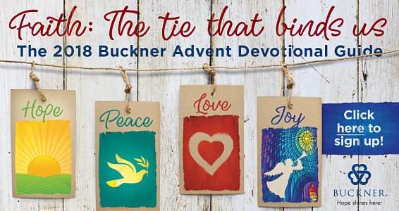 The digital 2018 Buckner Advent Devotional Guide is here! Get yours today!