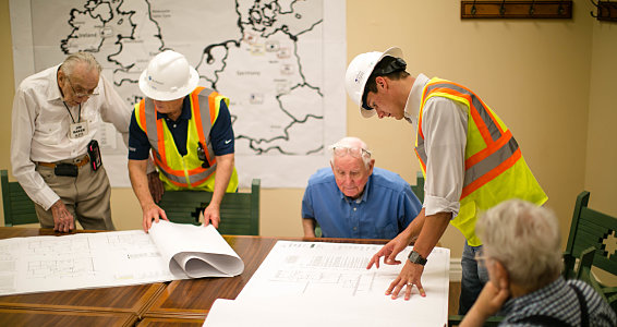 Dusting off the hard hat: Retired engineers share wisdom on new construction