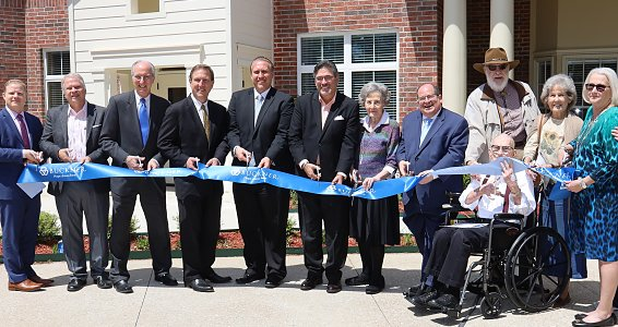 Buckner Calder Woods cuts ribbon on community expansions and renovations