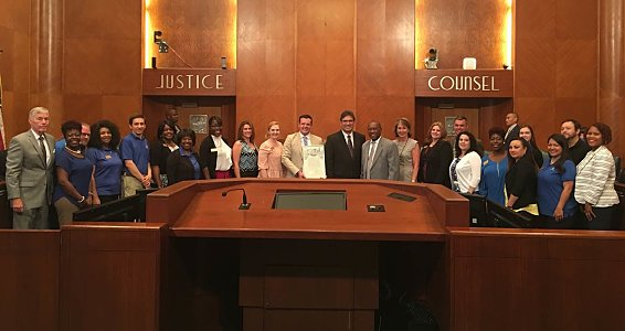 City of Houston proclaims May 9 'Buckner International Day'