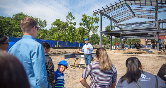Hope begins taking shape as new Family Hope Center reaches new heights in Dallas