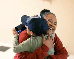 buckner family pathways helped bre bond with her son