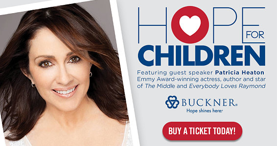 Exclusive interview with Buckner Hope for Children speaker Patricia Heaton