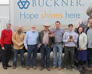 buckner shoes for orphan souls receives boot donation from m f western products