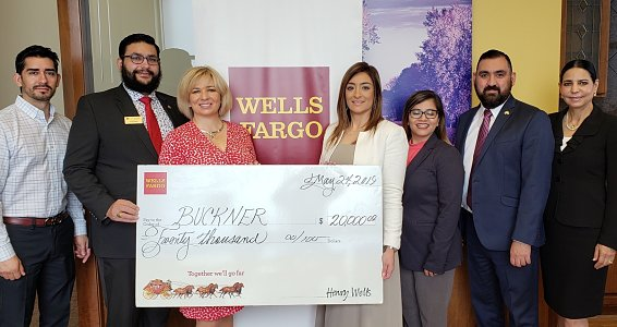 Wells Fargo grant helps Buckner build homes for low-income families in Rio Grande Valley