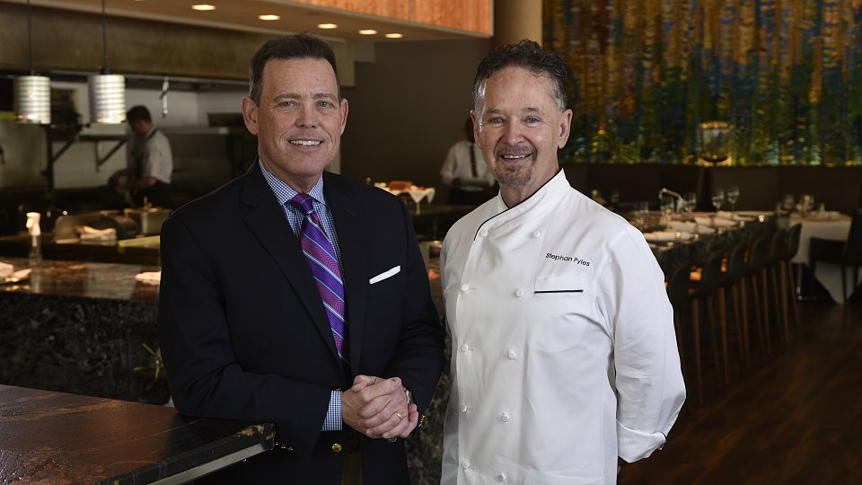 chef stephan pyles and ventana executive director rick pruett 1