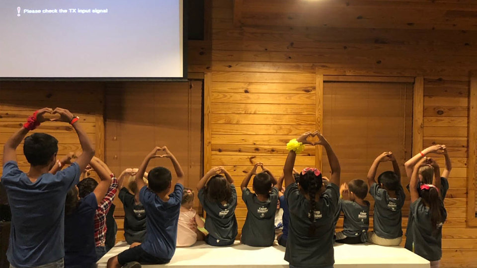 children from rio grande childrens home enjoy camp life at camp buckner