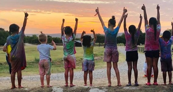 The foster families of Rio Grande Children's Home experienced joy, fun and hope at camp this summer