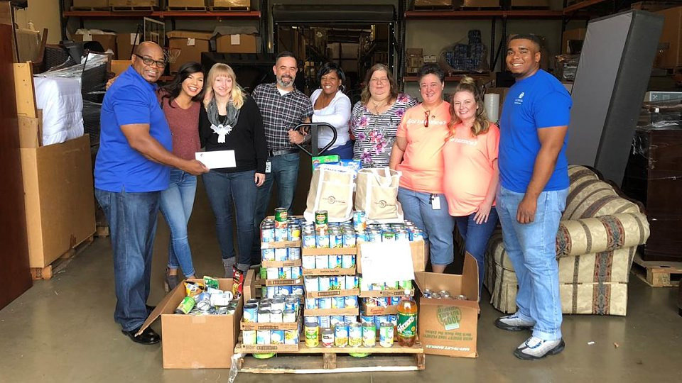 city credit union food drive