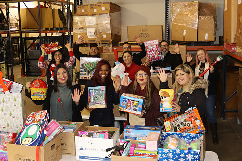 city credit union toy drive for buckner internationa