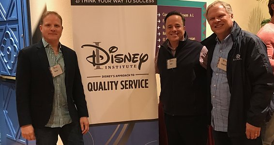 Friday photo: Leaders bring Disney hospitality to Buckner
