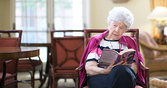 Top three books on senior living