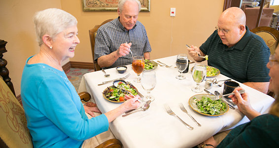 Keys to nutrition in senior living