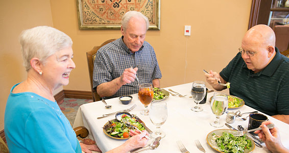 Around our table: Senior adults answer top Thanksgiving dinner table questions