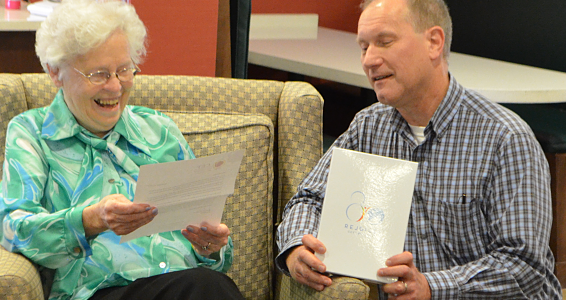 A growing legacy: resident recognized for 55 years serving with Good News Club