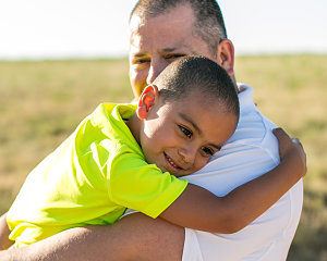 father son buckner foster care and adoption