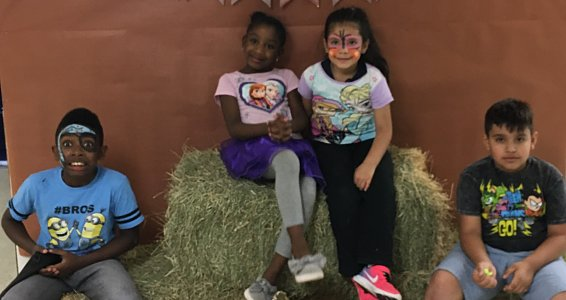 Fun at the Buckner Family Hope Center Fall Festival