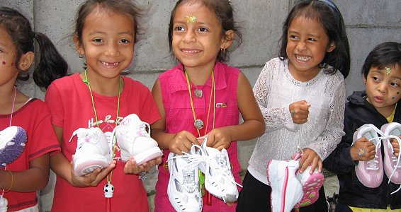 Celebrate National Flip-Flop Day and help a child get a new pair of shoes