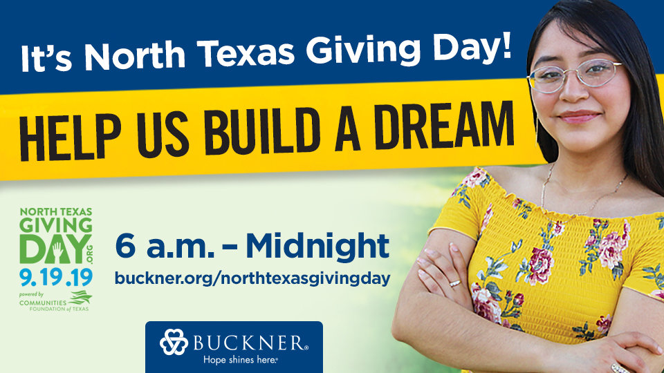 give today on north texas giving day to help children build a dream
