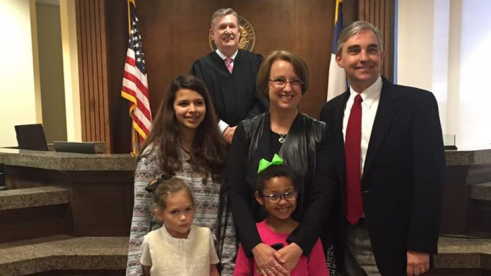 Joy fills Midland courthouse as 10 children are adopted ...