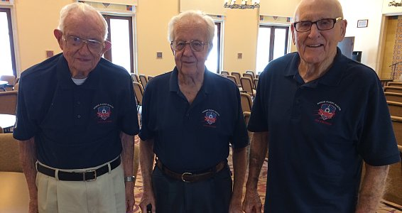 Three World War II veterans embark on Honor Flight Austin
