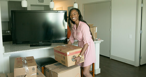 Friday photo: Buckner Family Pathways of Houston moves single parents and children into new apartments