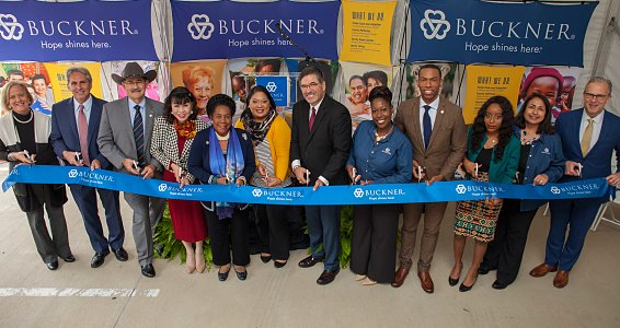 Buckner cuts ribbon on Family Hope Center serving South Houston