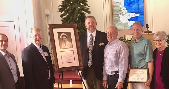 Baptist Retirement Community dedicates Elsie Gayer Chapel