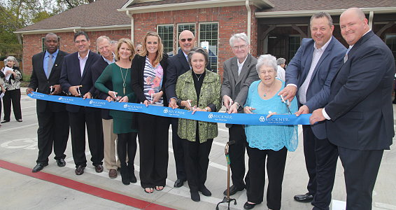 Buckner cuts ribbon for new Longview campus Nov. 18