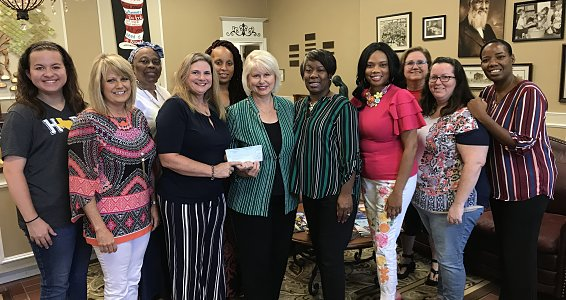 Beaumont Foundation presents second half of $136,500 donation providing new clothes for children in foster care