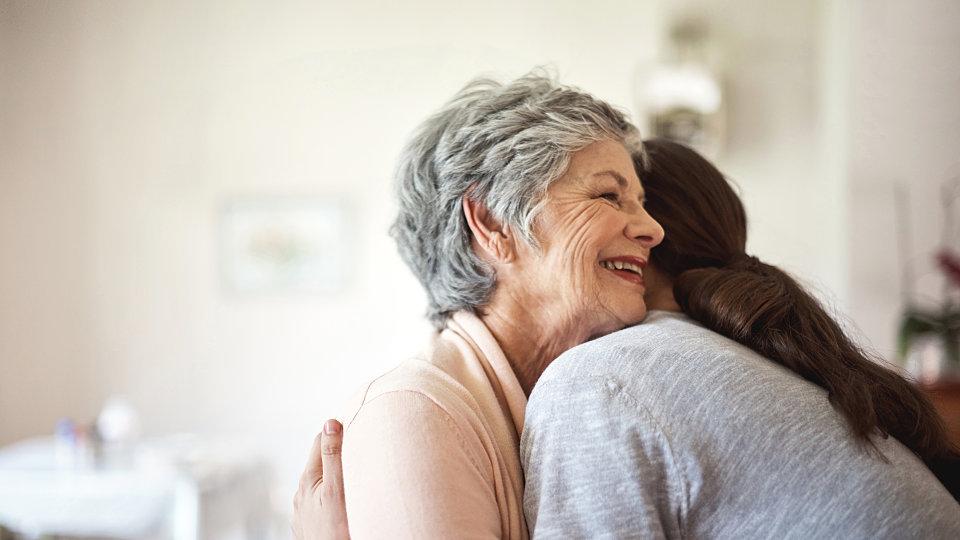 senior embrace