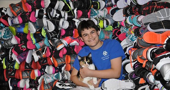 'The shoe boy' fulfills mission to help vulnerable children through Buckner Shoes for Orphan Souls®